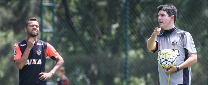Giacomini; Rafael Carioca;  Atlético-MG (Foto: Bruno Cantini/Atlético)