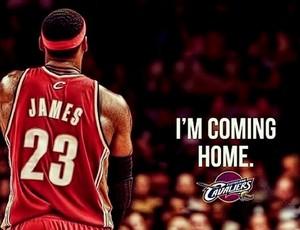 INSTAGRAM - Lebron James volta ao Cleveland Cavaliers (Foto: Reprodução / Instagram)