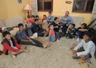 Mãe teve oito filhos e adotou outros seis (Tatiane Santos/G1)