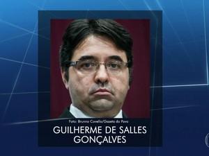 Advogado Guilherme de Salles Gonçalves não foi preso porque estava no exterior (Foto: Reprodução/TV Globo)