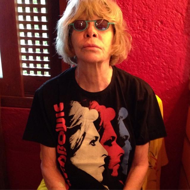 Rita homenageia Bowie em foto dessa segunda-feira (11) (Foto: Reprodução / Instagram)