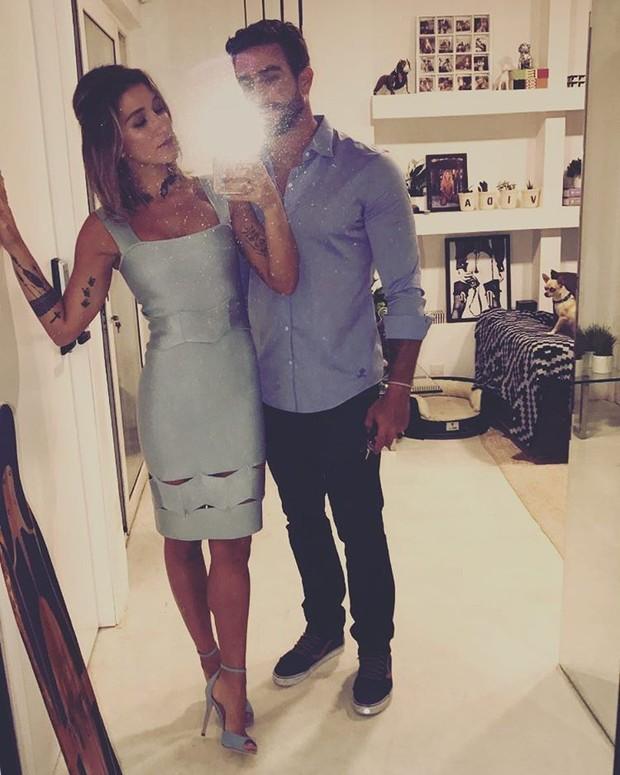 Gabriela Pugliese e Erasmo Viana (Foto: Reprodução/Instagram)