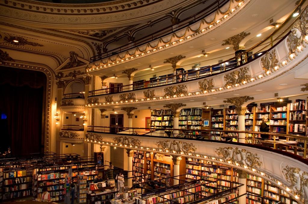 Librería El Ateneo Grand Splendid - Buenos Aires, Argentina (Foto: Reprodução)