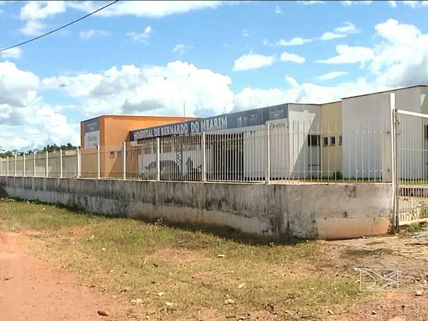 Após impasse, hospital Bernardo do Mearim (MA) parou de funcionar (Foto: Reprodução / TV Mirante)