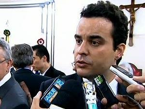 Diego de Nadai, Prefeito de Americana, que vai retomar o cargo  (Foto: Reprodução / TV Globo)