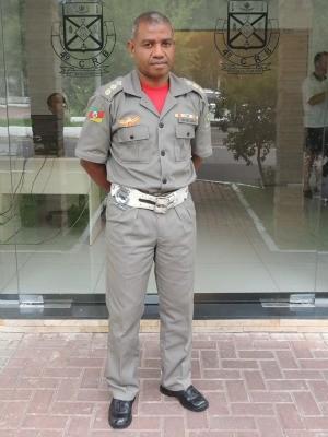 Coronel Maya assumiu o 4o Comando no final de março de 2013 (Foto: Felipe Truda/G1)