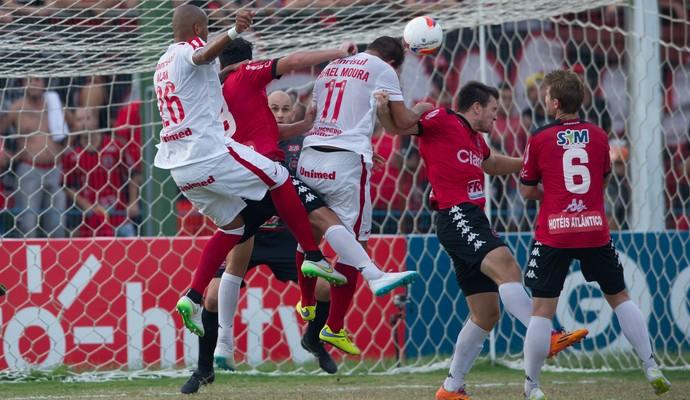 Rafael Moura gol do Inter Internacional x Brasil Gauchão  (Foto: Alexandre Lops/Inter)