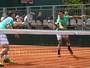 Nas duplas, André Sá vence e vai jogar com Melo nas oitavas; Bruno avança