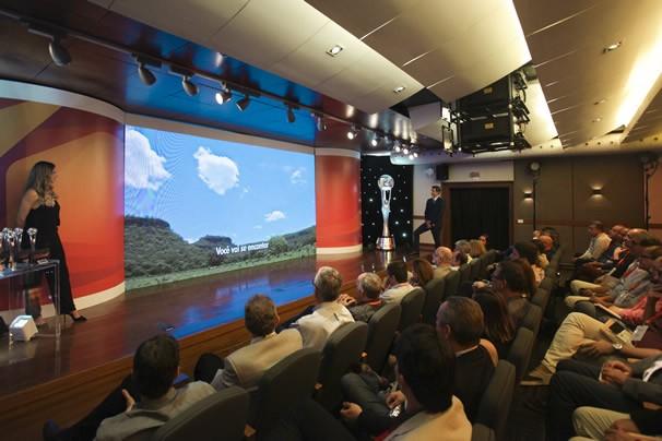Cerimônia de premiação do 3º Prêmio Globo de Programação (Foto: Rede Globo)