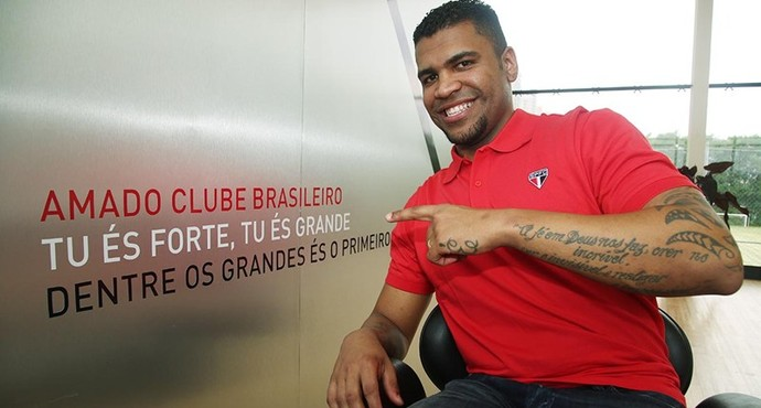 Breno São Paulo (Foto: site oficial / saopaulofc.net)