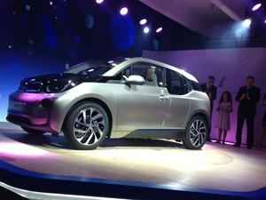BMW i3 tem preço inicial de 34.950 euros  (Foto: Alessandra Corrêa/G1)