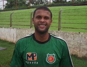 Zagueiro Fabiano, do Barretos (Foto: Divulga&#231;&#227;o)