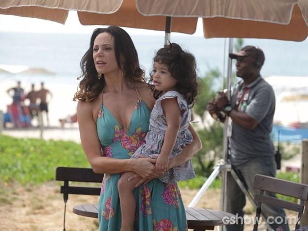 Vanessa Gerbelli e Bruna Faria  (Foto: Pedro Curi / TV Globo)