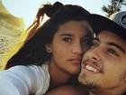Eike Duarte se derrete pela namorada, filha de Flávia Alessandra: 'Amo muito!'