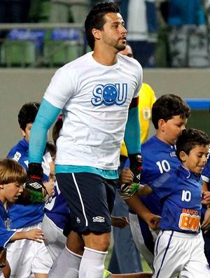 Fabio, Cruzeiro x Figueirense (Foto: Washington Alves / Vipcomm)