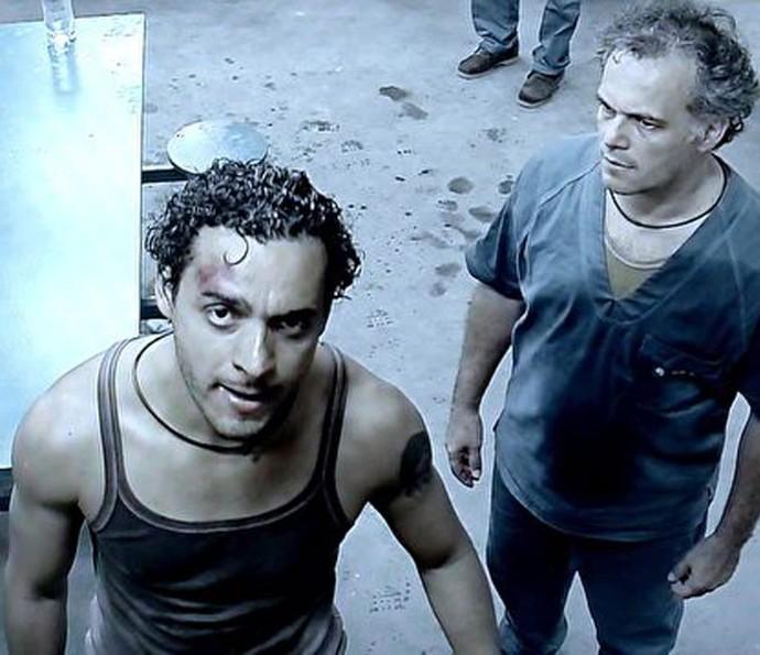 Participantes questionam abandono no presídio (Foto: TV Globo)