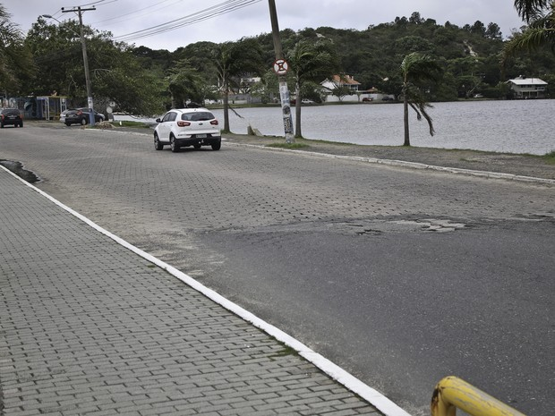 Avenida das Rendeiras terá lajotas trocadas por paver (Foto: Petra Mafalda/ Divulgação)