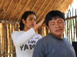 Estudo usou amostras de cabelo de indígenas e de escamas de peixes das regiões afetadas pelo garimpo ilegal (Foto: Divulgação/Marcos Wesley de Oliveira/ISA)