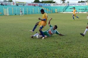 Interporto vence o Tocantinópolis no estádio Ribeirão (Foto: Divulgação/Tocnotícias)