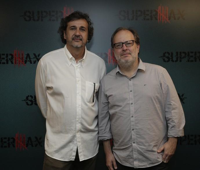 José Alvarenga Jr. e José Eduardo Belmonte dirigem Supermax (Foto: Artur Meninea / Gshow)