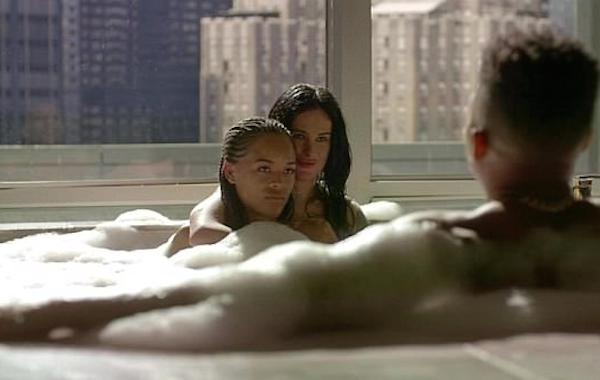 A cena ousada de Rumer Willis na série Empire (Foto: Reprodução)