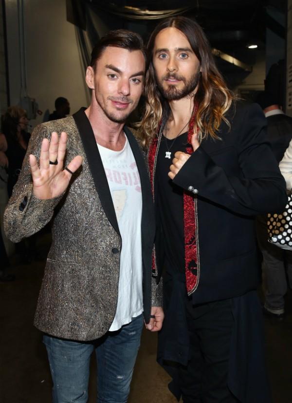 Os irmãos e músicos Shannon e Jared Leto (Foto: Getty Images)