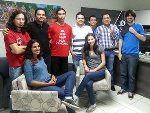 Equipe oficial do Sertão Games conta com nove integrantes (Foto: Sertão Games)