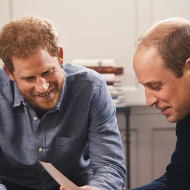 Principe Harry e Príncipe William (Foto: Divulgação)