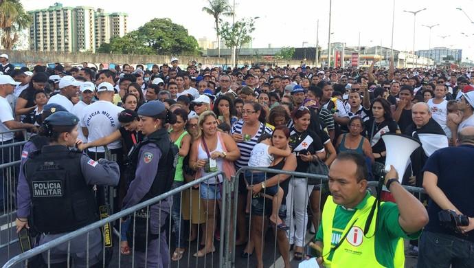 Arena da Amazônia - evento-teste (Foto: Fabrício Marques)