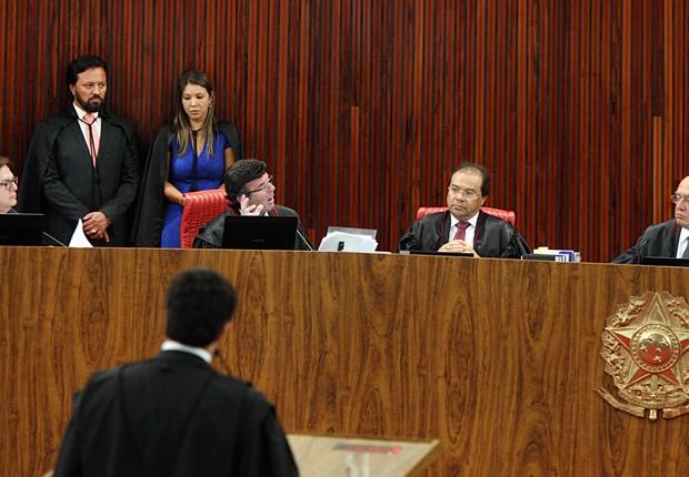 Terceiro dia do julgamento da chapa Dilma-Temer no TSE (Foto: TSE)