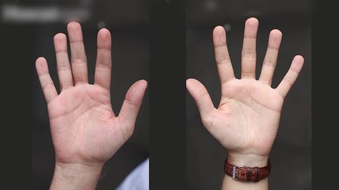 Marcello Meneses: mão direita e esquerda podem ser ativas ou passivas (Foto: TV Bahia)