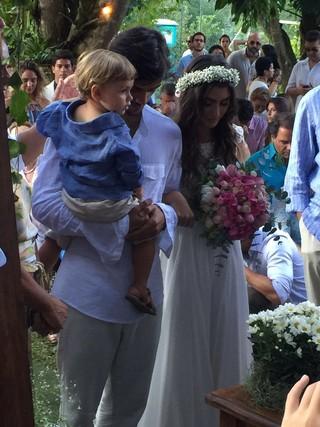 Mariana Uhlmann e Felipe Simas se casam (Foto: Instagram / Reprodução)