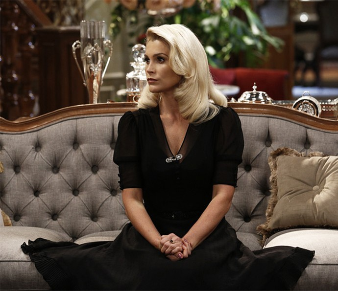 Confira as dicas da atriz para cuidar do loiro dos cabelos (Foto: Gshow)
