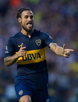 osvaldo Boca Juniors X ESTUDIANTES (Foto: AFP)