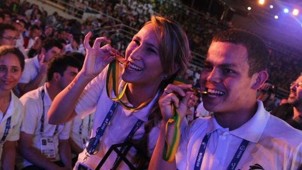 Noite de festa para os premiados nas Olimpíadas do Conhecimento (Maurício Nascimento)