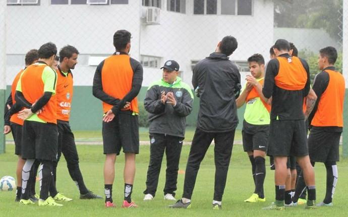 coritiba treino pachequinho (Foto: Divulgação/Coritiba)