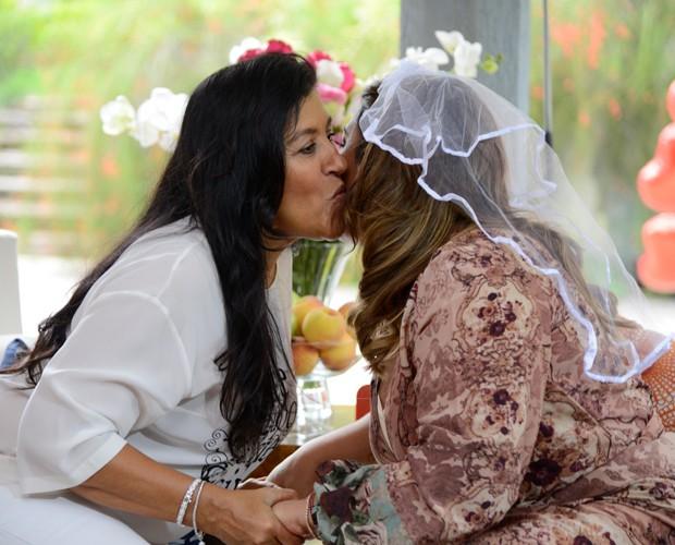 Regina Casé e Preta Gil  (Foto: Ellen Soares / Gshow)
