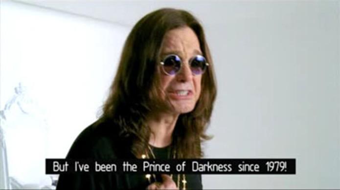 Em propaganda de WoW, Ozzy Osbourne quer ser o príncipe das trevas (Foto: Reprodução/YouTube)