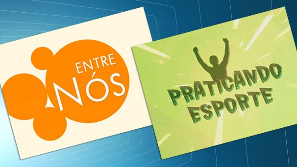 """""""Entre Nós"""" e """"Praticando Esportes"""" são as atrações do SPTV 1ª Edição (Foto: Reprodução/TV Fronteira)"""