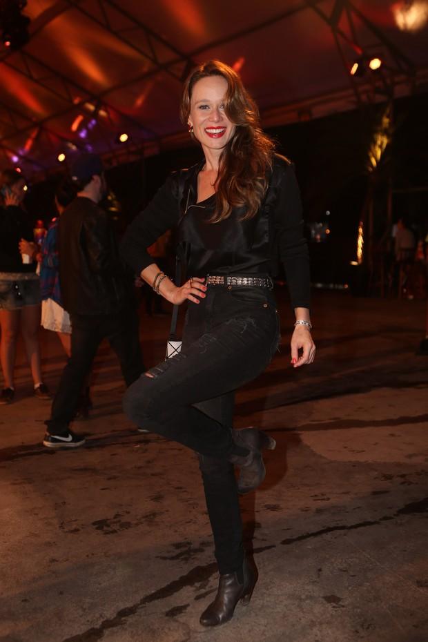 Mariana Ximenes no Lollapalooza (Foto: Iwi Onodera/EGO)