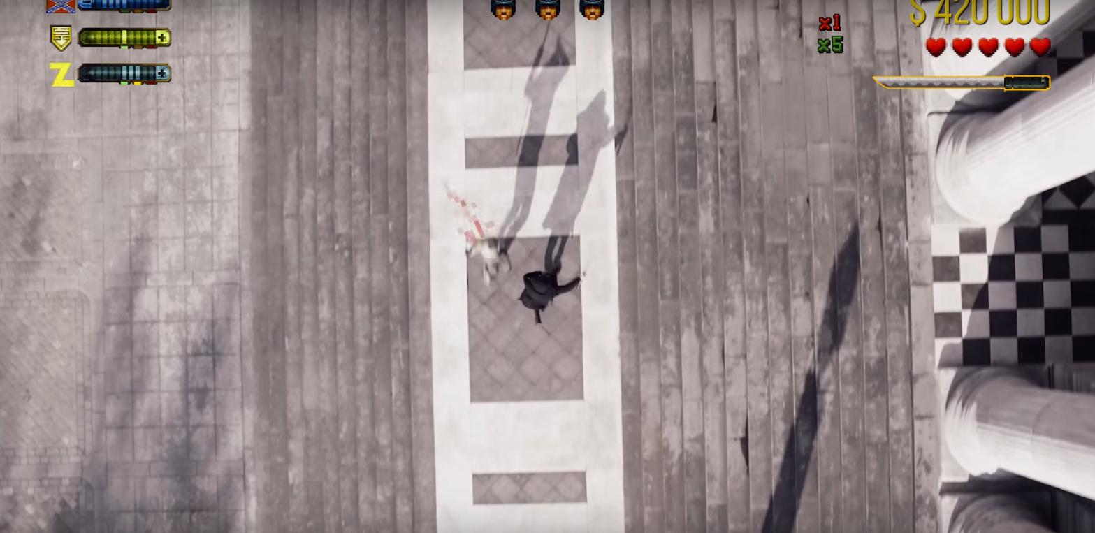 Vídeo une parkour e drones para criar videogame da vida real (Foto: Reprodução/Youtube)