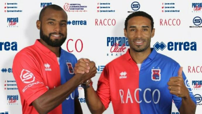 Pitty João Paulo Paraná Clube (Foto: Site oficial do Paraná/Divulgação)