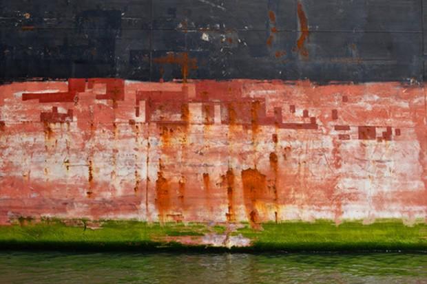 Duo A-nima-L exibe séries fotográficas sobre o porto de Santos no Studio Alê Jordão (Foto: Divulgação)