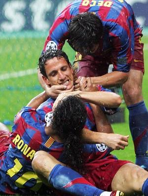 Belletti Barcelona Arsenal 2006 (Foto: Getty Images)