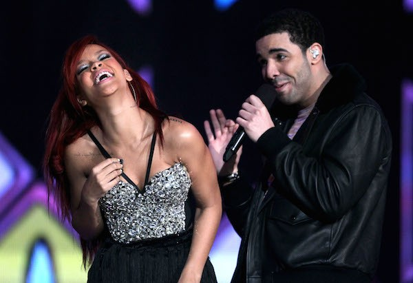 A cantora Rihanna e o rapper Drake (Foto: Getty Images)