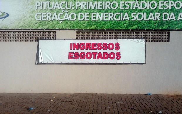 pituaçu ingresso (Foto: Thiago Pereira/Globoesporte.com)
