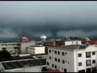 Tornado com vento de 115km/h provoca destruição no Paraná