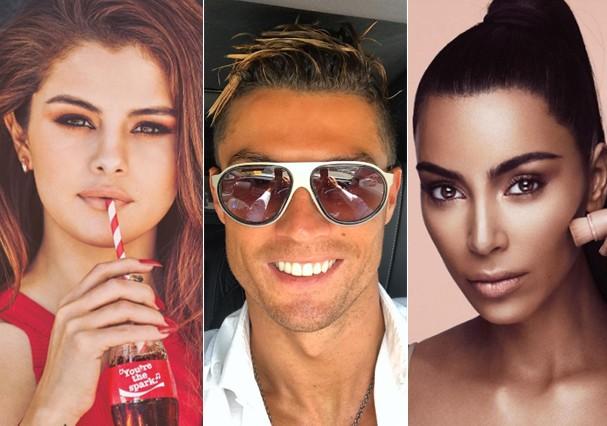 Celebridades mais bem pagas do Instagram (Foto: Instagram/Reprodução)