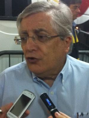 João Paulo de Jesus Lopes, vice-presidente de futebol do São Paulo (Foto: Marcelo Prado / Globoesporte.com)