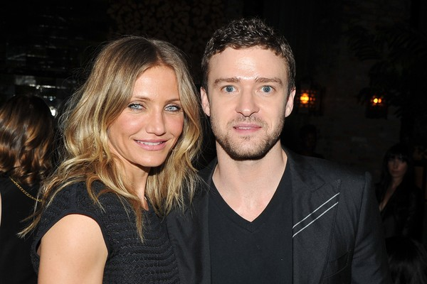 Justin Timberlake e Cameron Diaz (Foto: Getty Images)
